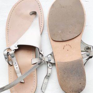 GAP Cream Thong Sandals